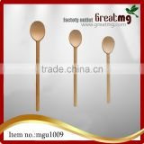 Flatware Soup Spoons Solid Natural Bamboo Wood Coffee Soup Tasting Spoon Wooden Spoon Table Spoon
