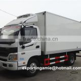 foton Aumark 5 ton FRP frozen food truck with 2050mm wide cabin