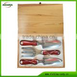 3-pieces Stainless Steel Garden Hand Tools Gift Set