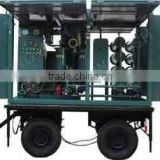 No-PCB Mineral Oil-based Transformer Oil Purifier Device With Trail Car