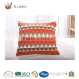 2016 NEW Designed Cushion with soft-hand feeling, attractive triangle style and beautiful colour