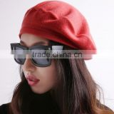 Wholesale French ladies fashion knitted beret