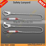 YL-E502 safety belt lanyards/ladder safety belts/safety belt with hook
