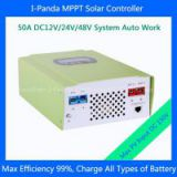 CE RoHS approved 50A 48 Volt Controller, efficiency 99% MPPT solar charger controller 12V 24V 48V auto work