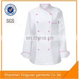popular design white genius chinese restaurant uniform designs