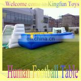 12players inflatable human soccer table/football yard sport