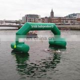 Hot same PVC Inflatable Floating Arch for water sports