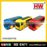 Funny Plastic Battery Operated Toy Bus Light and Music Battery Car