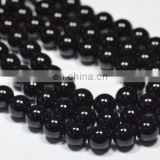 Black spinel round beads/Onyx gemstone beads/Wholesale onyx gemstone beads/Black onyx beads