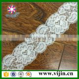 nylon elastic knitted narrow laces for underwear china factory