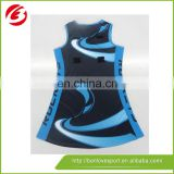 100% polyester netball dress netball uniform