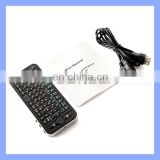 Hot Sale Handheld Slim 2.4G Multimedia Wireless Keyboard with Touchpad