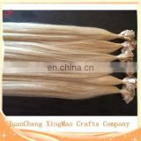 100% Human Hair Very Soft Great Quality Wholesale Flat Tip Hair Extension