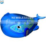 Inflatable Ocean Million Ball Pool Whale Island Paradise Fun Sport Air Model Outdoor Amusement Park Playground Equipment