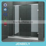 glass shower room sliding shower enclosure bathroom cabinet and sinks                                                                         Quality Choice