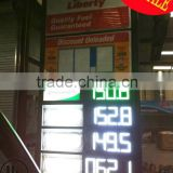 8'', 12'',16'',18''; 20'',24'',30'' 48'' feul price station 7 segment LED Gas Price Sign for fuel Sign board
