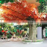 Factory direct wholesale artificial maple tree with red/yellow/green leaves