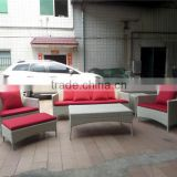 Foshan factory PE rattan luxury outdoor furniture sofa sets living room furniture                                                                         Quality Choice