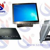Used 15 Inch Fanless LCD Industrial Touch Panel PC All In One Aluminum Computer Industrial Computers