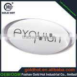China supplier wholesale factory price clear logo high quality 3d epoxy resin dome label