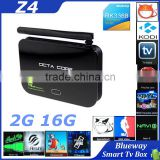 Z4 TV Box Android 5.1 Lollipop OS RK3368 Octa Core 64Bit 2GB RAM 16GB ROM BT 4.0 Dual wifi 2.4G 5.8G Kodi Fully Loaded AP6335