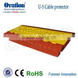 OVATION strongest&hith quality Cablecross 5 channels Cable Protector maximun Lode-bearing of 10 tons