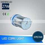 High Power 27W e27 led corn cob light with 2 Year Warranty /led corn light/corn led light