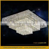Banquet hall LED chandeliers custom-made crystal Ceiling Lights for big hall