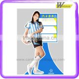 new style promotion and exhibition cardboard advertising creative standee for women's clothing
