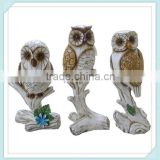 garden ornaments owls for garden decoration