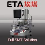 high precision smd pcb led soldering machine , bga rework station for mobile phone ps3 laptop motherboards repair