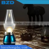 Traditional Blow Control USB Rechargeable Antique Glass Kerosene oil Lamps / Best Promotional Gift and Traditional Meeting