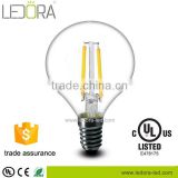 globe led light G45 E14 2W 4W Filament led lamp bulbs DC 12V /24V                                                                         Quality Choice