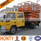 portable hydraulic scissor car lift/ mobile work platforms/working platform manufacturers