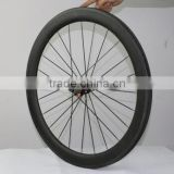 carbon wheels 55mm road clincher wheelset 700C ruote carbonio