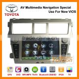 Brand YOTOON - Factory Car DVD AV Multimedia 7'' GPS Navigation System Special Use for New Toyota Vios