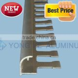 Professional chrome surface bathroon aluminum tile trim design