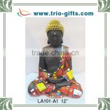 Newest resin crafts praying buddha statue