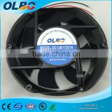 12v ball bearing 172mm dc cooling fan 172x152x51mm with waterproof ip68