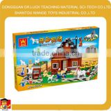 assemble juguetes interlocking block toy
