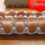 Molded pulp recycled egg tbox , sizes 15