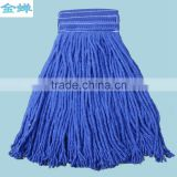 "C004 4 Ply blended cotton looped end wet mop, with 1"" headband.                                                                         Quality Choice"