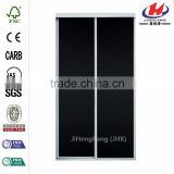 JHK-F01Lg Refrigerator Office Partition Colors Designer Double Leaf Veneer Interior Door