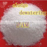 sludge dewatering cationic polymer flocculant for graval