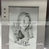 Promotinal wholesale Aluminum Photo Frame home decor picture frame Real pictures for sale