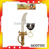 plastic cool pirate sword pirate rings for children