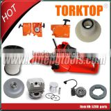 Good Quality China spare parts of chain saw 45cc 52cc 58cc                                                                                                         Supplier's Choice