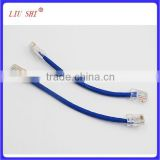 utp cat5e network cable, patch cord cable, 24awg 4pr lan cable pass fluke test, cat5e ethernet cable