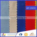 EN11612 Hot Sale Poly-Cotton Fireproof Anti-static anti acid Fabric for Protective Clothing