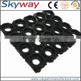 Easy clean grease proofing safety plant industry rubber mats anti skit fatigue